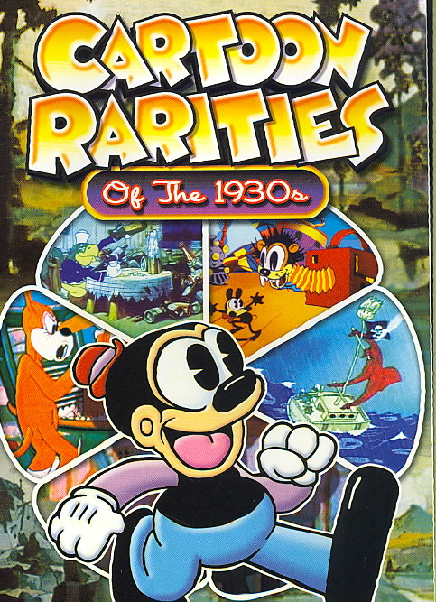 CARTOON RARITIES OF THE 1930'S (DVD)